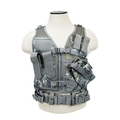 Tactical Vest/Digital Camo Xs-S