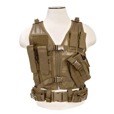 Tactical Vest/Tan Xs-S