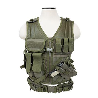 Tactical Vest/Green  Xl-Xxl+