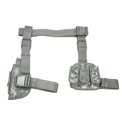 3Pcs Drop Leg Gun Holster And Magazine Holder/Digital Camo