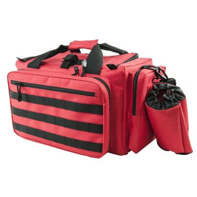 Competition Range Bag/Red With Black Trim
