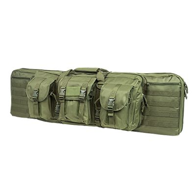 Double Carbine Case/Green/42 In