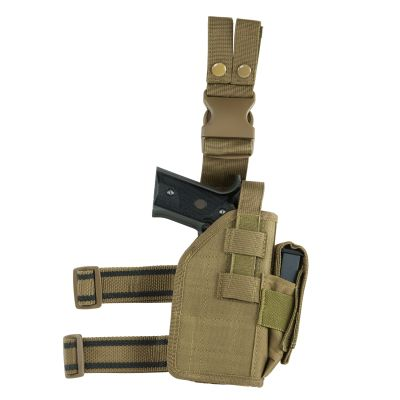 Drop Leg Universal Holster/ Tan