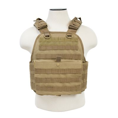 Plate Carrier Vest/Digital Tan