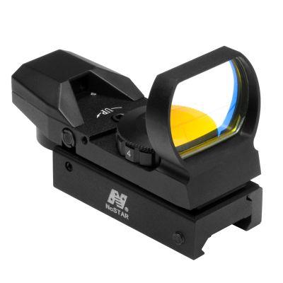 Red Dot Reflex Sight /4 Different Reticles/Weaver Base/Black