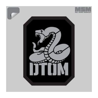 DTOM Stencil Decal