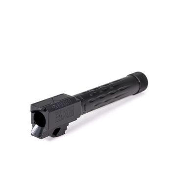 Faxon Match Series Glock Barrels 9mm G19 Flame Fluted and Threaded