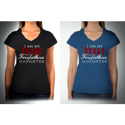 Forefather's Daughter's Ladies T-shirt