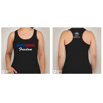 Freedom Tank by Lady LiberTee