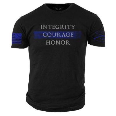 Grunt Style Thin Blue Line Tshirt