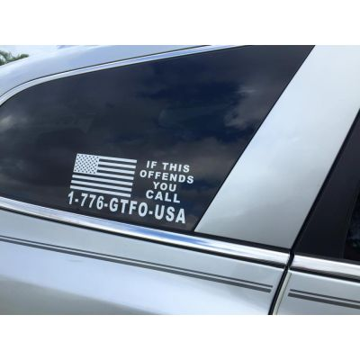 GTFO USA decal