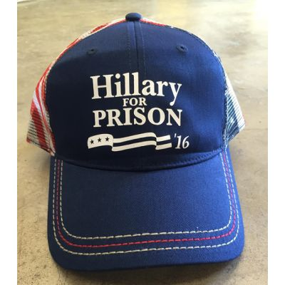 American Flag Hat - Hillary for Prison