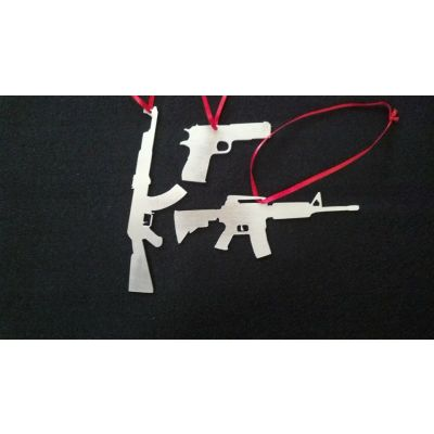 Billet 3-gun Christmas Ornament Set