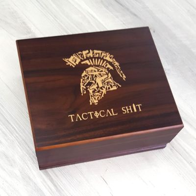 Tactical Shit Cigar Humidor