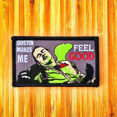 "GHOSTBUSTERS VENKMAN ""BUSTIN MAKES ME FEEL GOOD"" MORALE PATCH"