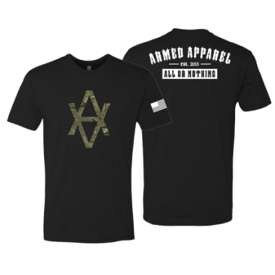 Armed Apparel Camo Staple T-shirt