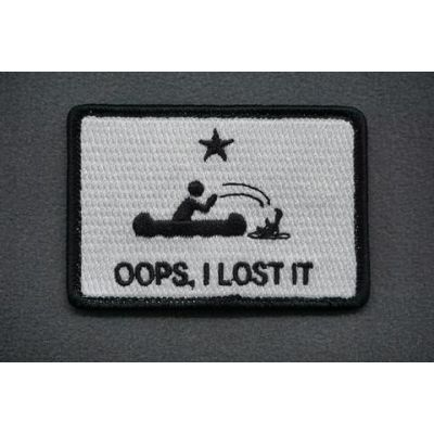 OOPS I LOST IT - MORALE PATCH