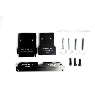 Crosstac AR-15 Modular Maintenance Block Kit with AR 10 / AR 15 Receiver Blocks