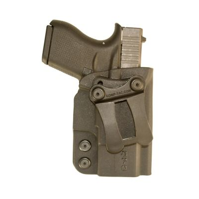 Comp-Tac QI IWB Kydex Holster Q3 GLOCK 43 Spring XDS M&P Shield WALTHER PPS CCP
