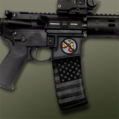 AR-15 Mag Well Decals - Mil-Spec Monkey - No Clown Shoes