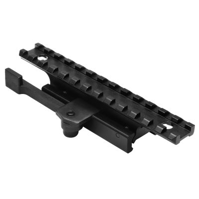 "AR15 Weaver ¾"" Riser With Quick Release Weaver Mount"
