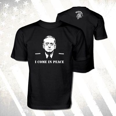 "General Mattis ""I Come In Peace"" Shirt"