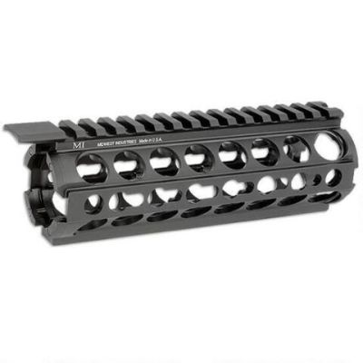 Midwest Industries AR-15/M16 K-Series KeyMod Two Piece Drop-In Handguard, Carbine Length