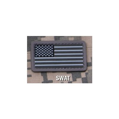 US FLAG PVC MINI Patch