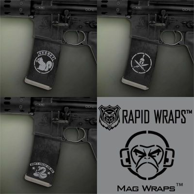 AR-15 Mag Wraps™ Mil Spec Monkey 3-Pack