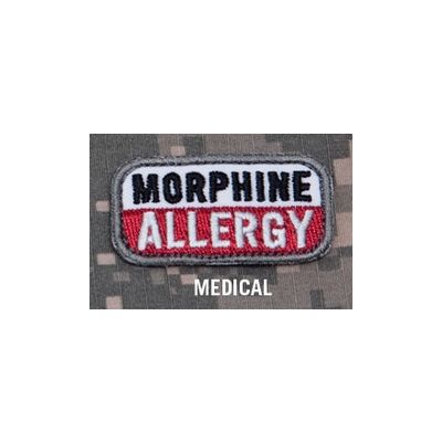 Morphine Allergy Patch