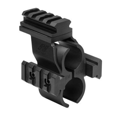 Rem 870 Shotgun Barrel And Magazine Tube Micro-Dot And Rail Mount