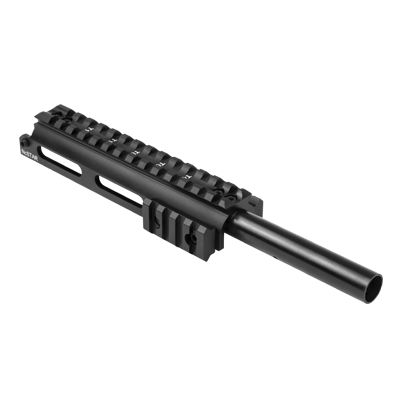 SKS Gas Tube Picatinny Rail Scope Mount With Two Side Rails