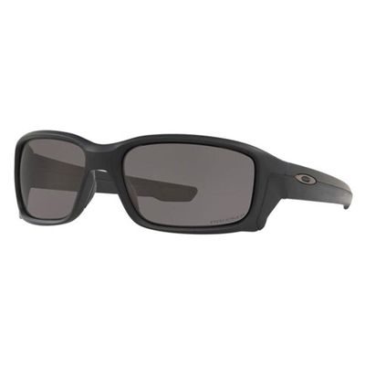 Oakley SI Straightlink Matte Black w/ Prizm Grey Polarized