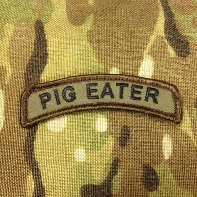 Pig Eater Morale Patch Tab