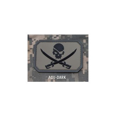 PirateSkull-PVC Patch