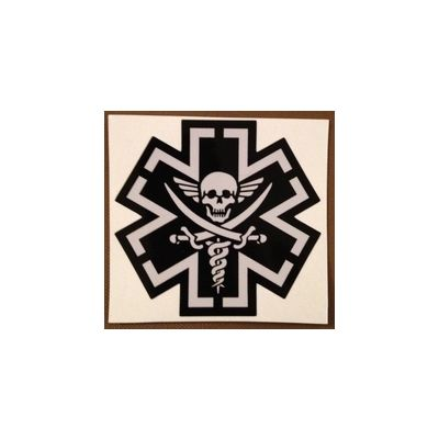 Tac-Med Pirate Decal