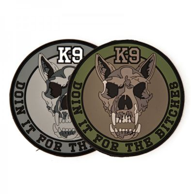 PLATATAC K9 MORALE PATCH