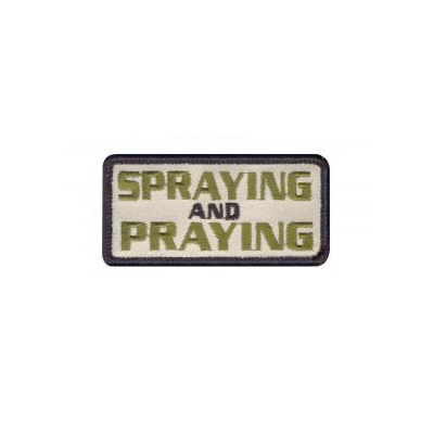 Spraying and Praying Patch