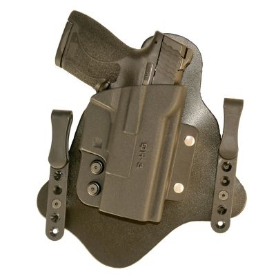 Comp-Tac Q-Line IWB Hybrid Holster Q3 GLOCK 43 - Springfield XDS - M&P Shield -WALTHER PPS CCP