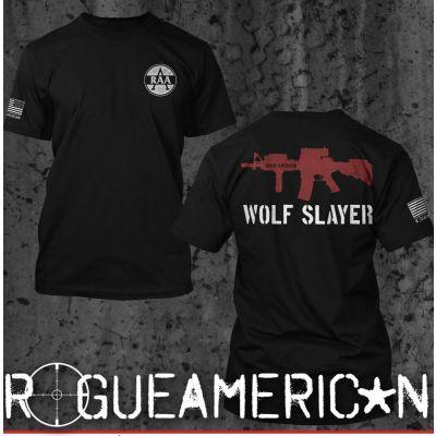 Rogue American WOLF SLAYER TEE