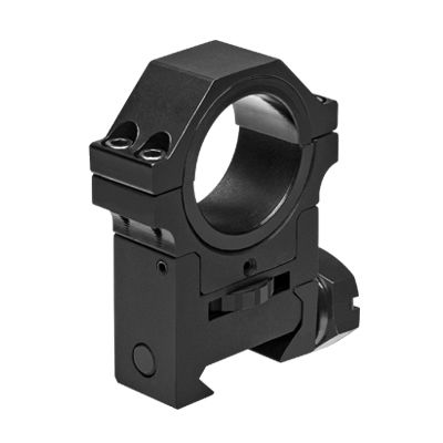 "30mm Adjustable Height Optic Ring With 1"" Insert"