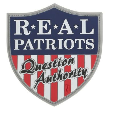 Real Patriots PVC Patch