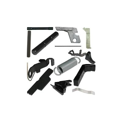 Complete Lower Receiver Parts Kit For Polymer80 Frame and 3-Pin G17