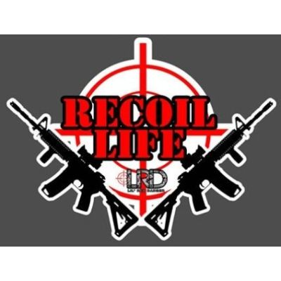 Recoil Life Decal
