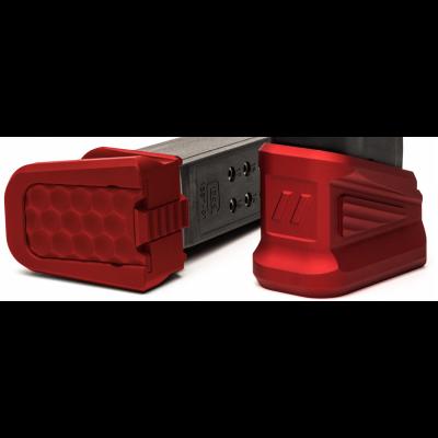 Zev Technologies Glock Magazine Basepad (Red)