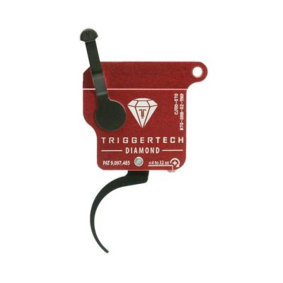 Triggertech Rem 700 Diamond Trigger Pro Curved Right Hand w/o bolt release