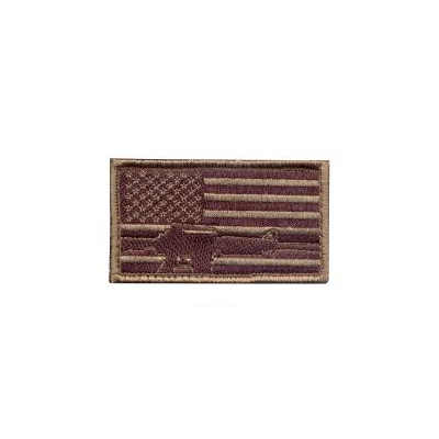 US Flag with Rifle Patch