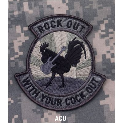 Rock Out Patch