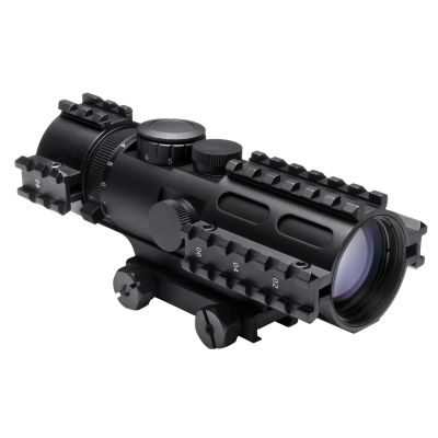 Tri-Rail Series 3-9X42 Compact Scope/3 Rail Sighting System/Blue Ill. P4 Sniper/Weaver Mount