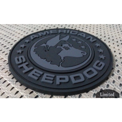 GHOST Limited Edition American Sheepdog PVC Patch